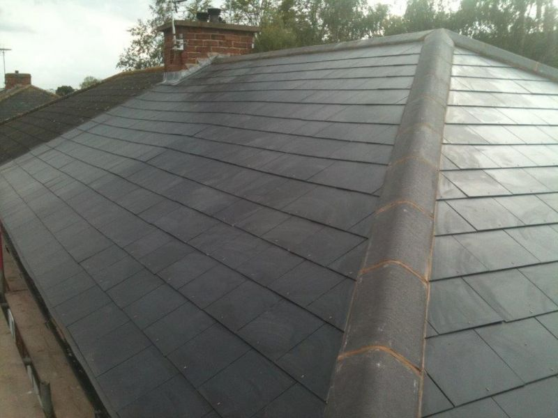Slate Roof: Swipe To View More Images