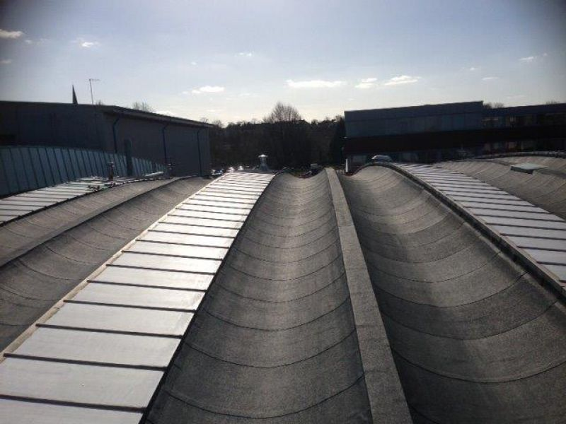 Industrial Torch on modified bitumen roofing Coleshill : Swipe To View More Images
