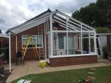 New Conservaotory With Bespoke Awning : Click Here To View Larger Image